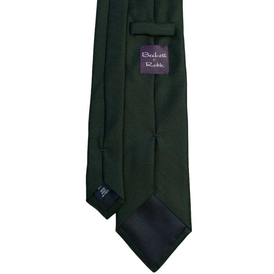 Forest Green Silk Tie