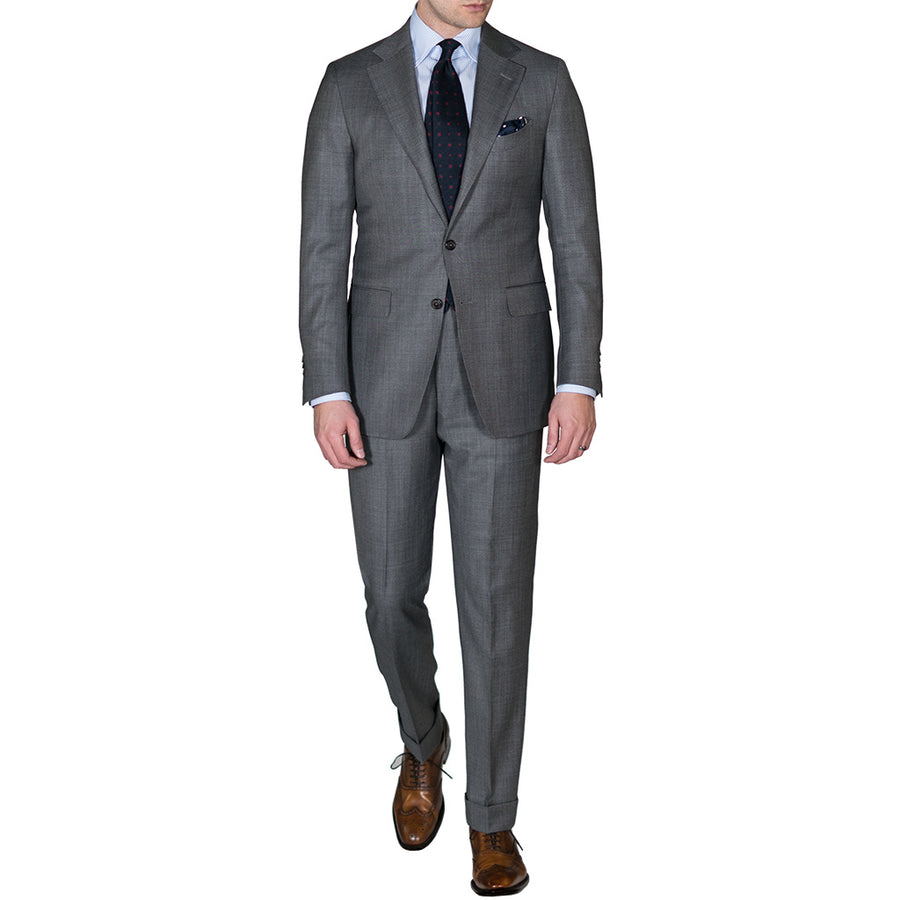 Grey Crispaire Suit