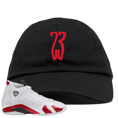 Jordan 14 Rip Hamilton 23 Black Dad Hat