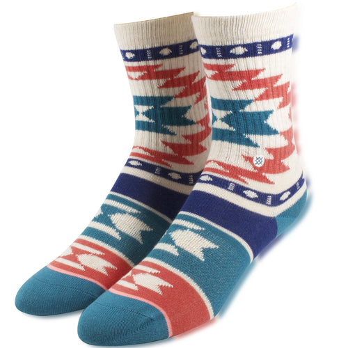 Stance Aztec Pattern Youth Sized Girl's High Socks