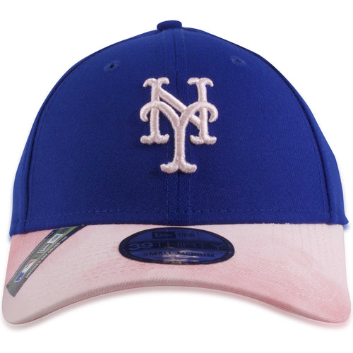 New York Mets 2019 Mother's Day Blue on Pink 39Thirty Flexfit Cap