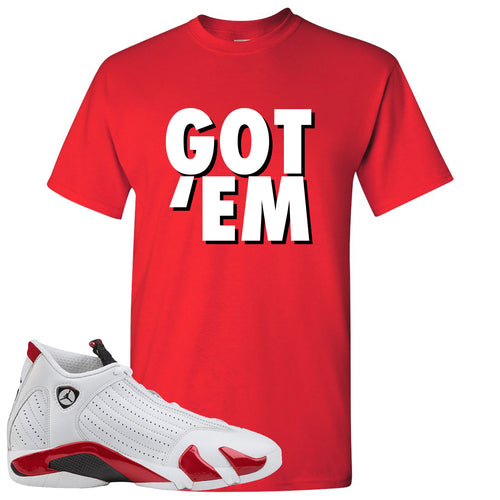 Jordan 14 Rip Hamilton Got 'Em Red T-Shirt