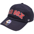 the womens rhinestone boston red sox ball cap has a bent brim and a soft crown