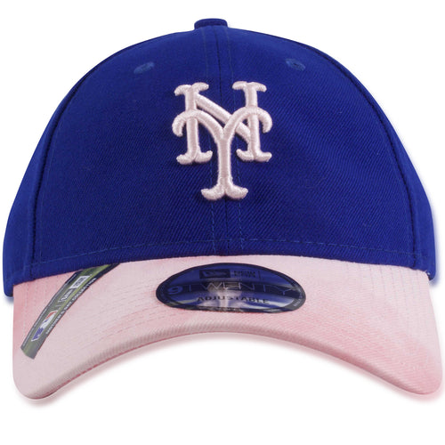 New York Mets 2019 Mother's Day Blue on Pink 9Twenty Dad Hat