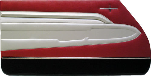 1960 Adventurer 2-Door Hardtop Trim 806 Door Panels