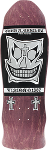 VISION GRIGLEY I DECK-9.5x30 PURPLE W/BLK/WHT/SIL