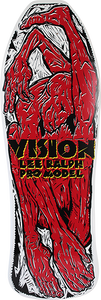 VISION LEE RALPH DECK-10.25x30.5 WHT/RED