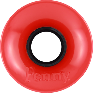 PENNY WHEELS 59mm SOLID RED .pc
