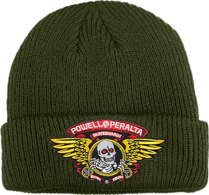 PWL/P WINGED RIPPER BEANIE MILITARY GREEN