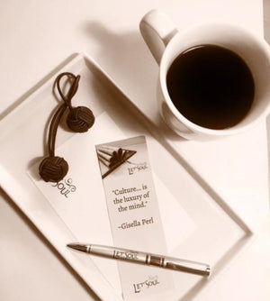 "2x6"" classic and elegant bookmark , with a beautiful quote imprinted on the front  presented in a white sachet, laminated - makes it perfect business or corporate gift and of course always a perfect reader for an avid reader.   Shop for one or few now."