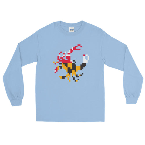 Bit Crab Long-Sleeve Tee
