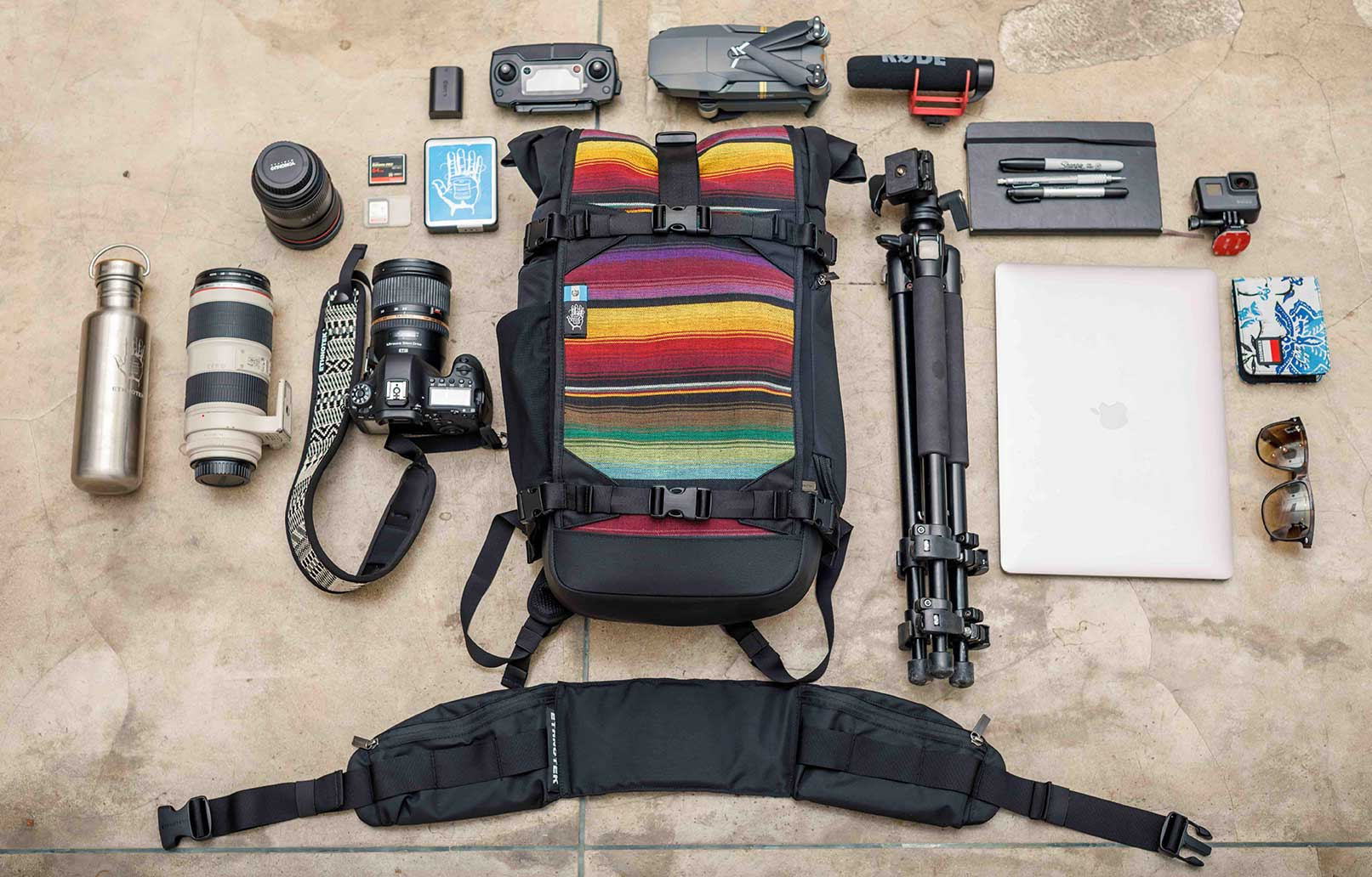 Camera backpack for Travel | Raja Photo pack 30 Liter