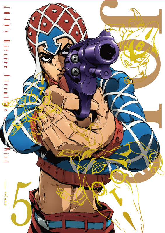 (DVD) JoJo's Bizarre Adventure TV Series Part 5: Golden Wind Vol. 5 [First Run Limited Edition]