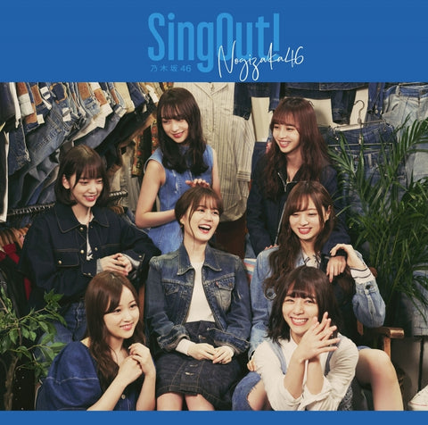 (Maxi Single) Sing Out! by Nogizaka46 [w/ Blu-ray, Type-D]