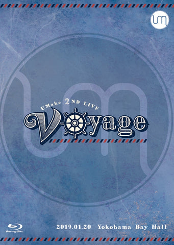 (Blu-ray) UMake 2nd Live - Voyage [First Run Edition]