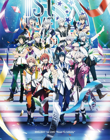 (Blu-ray) IDOLiSH7 1st LIVE Road To Infinity Blu-ray BOX -Limited Edition-