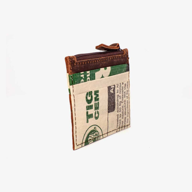Recycling Credit Card Holder - Green Cement