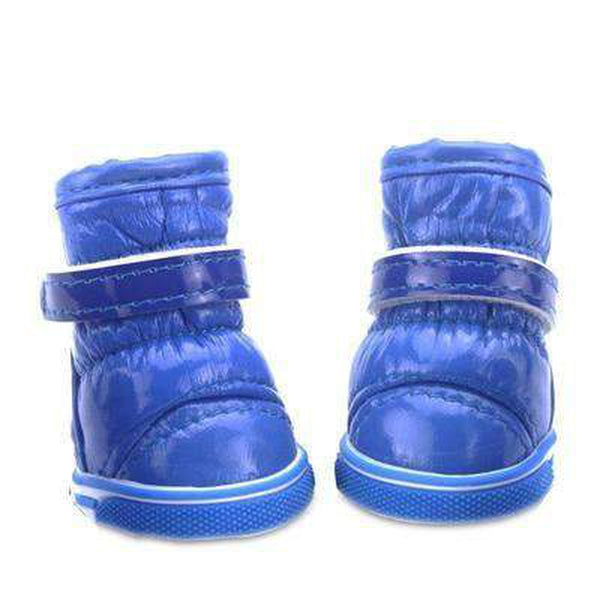 Puffy Dog Snow Boots Pet Clothes Oberlo