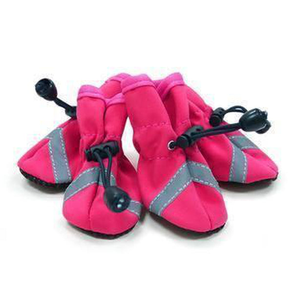 Slip-On Paws Dog Booties by Dogo - Pink Pet Clothes DOGO X-Small