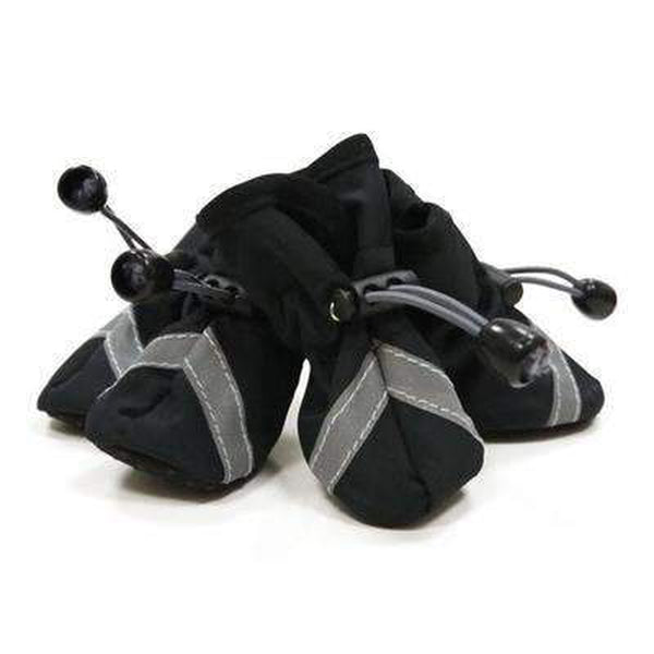 Slip-On Paws Dog Booties by Dogo - Black Pet Clothes DOGO