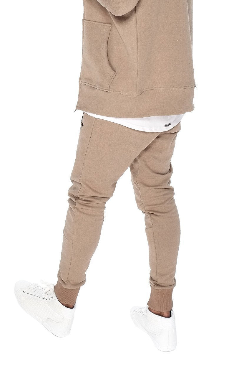 Mens Judas Sinned Biker Tracksuit Men's Joggers / Jogging Bottoms - Caramel (JOGGERS) - Judas Sinned Clothing