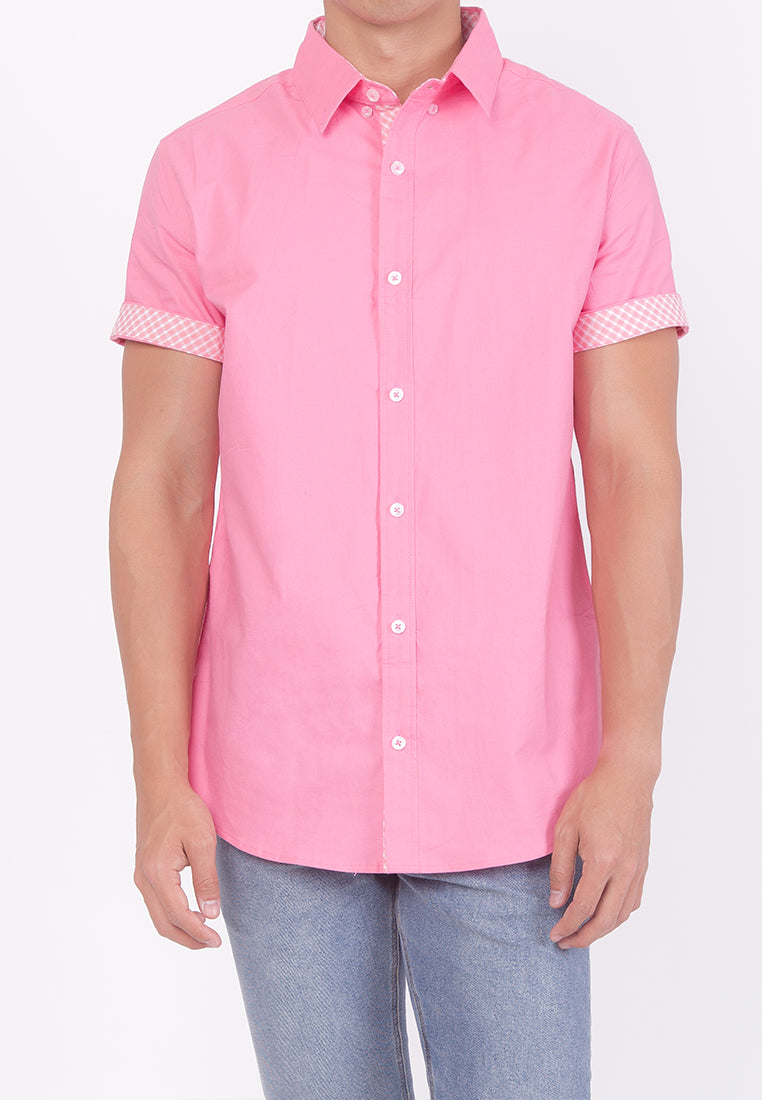 COLLARED BUTTON DOWN - PINK (DADDY)