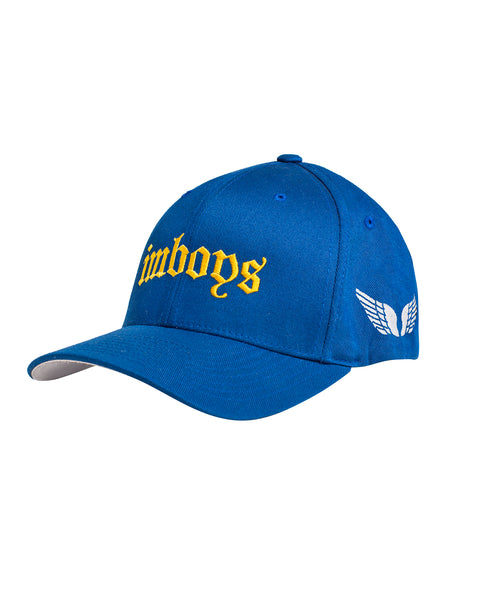 Imboys Cap Royal Blue embroidered logo wings