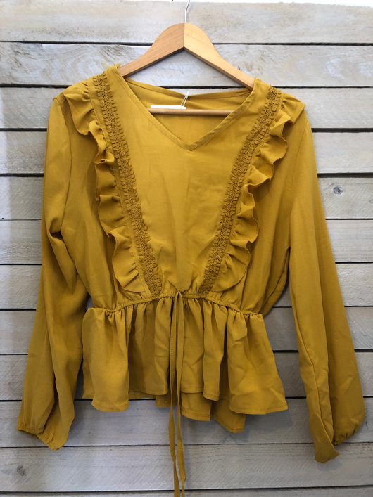 Blouse | chest frill