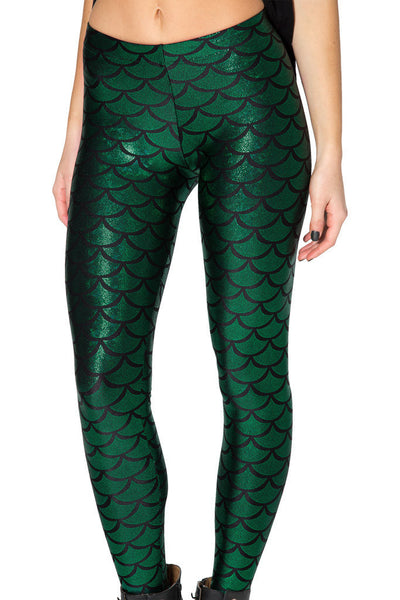 Mermaid Leggings - Shakespurr
