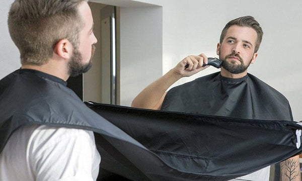 Beard Bib for clutter free shaving - Shakespurr