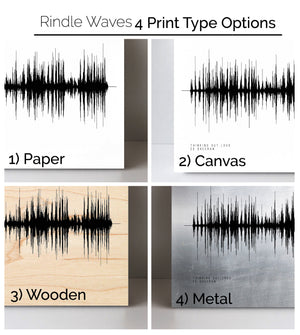 Ray LaMontagne, You Are The Best Thing Sound Art Print | Pre-Made Sound Wave Print