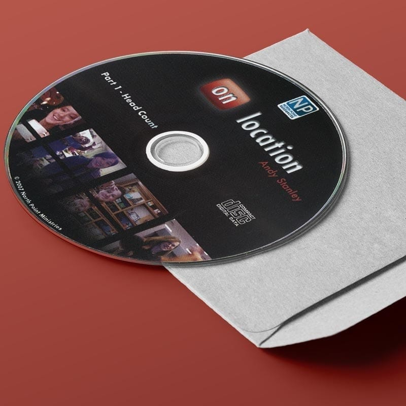 On Location CD Series God View of Purpose by Andy Stanley