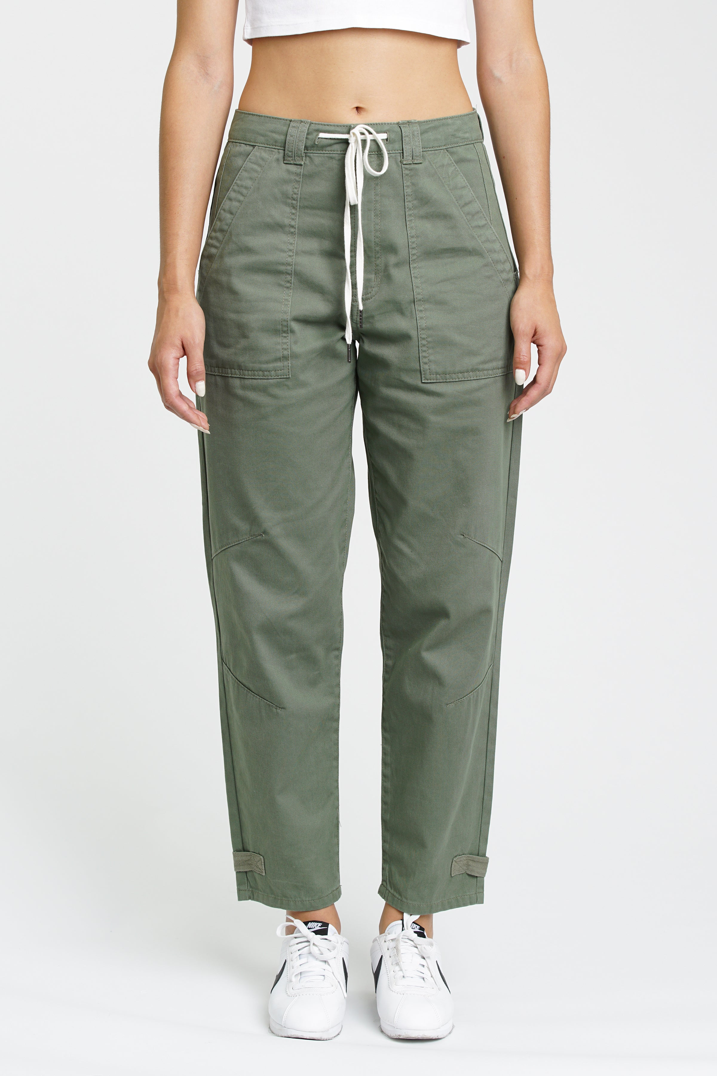Pamela High Rise Utility Pant - Colonel
