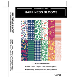 Happiness Blooms DSP - Kylie Bertucci #loveitchopittopieces