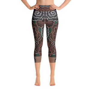 Forbidden Variation - Yoga Capri Leggings
