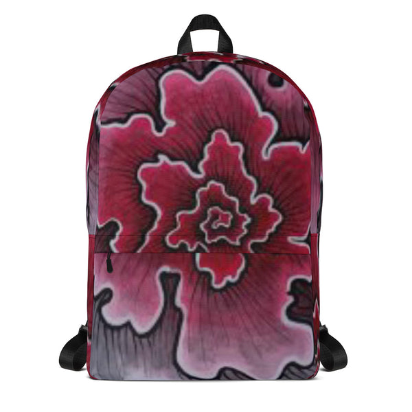 Dynamic Thought Flower #3 - Backpack