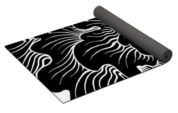 Static Thought Flower - Yoga Mat