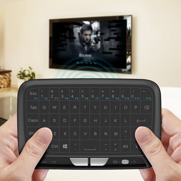 Cordless Touch Pad Keyboard 2.4G Mini Wireless Keyboard Full Screen Touchpad USB