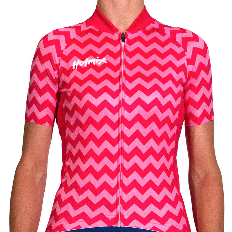 Pink Chevy Women's Cycling Jersey