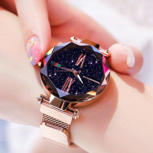 Magnetic Strap Watch Watch InspirExpress Golden