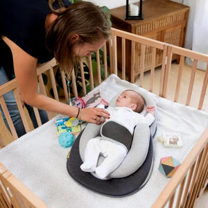 Portable Baby Bed Bed InspirExpress Brown