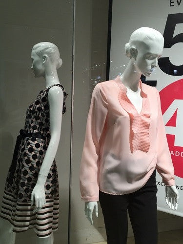 Mannequins really upgrade you clothing value