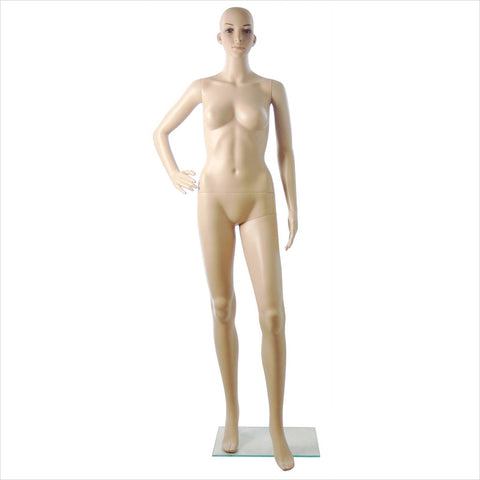 Female Mannequin with Right Arm on Waist - F/9X
