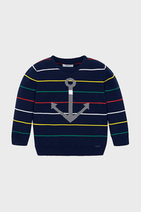 Anchor Stripe Sweater