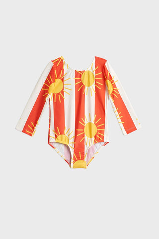 Sun Stripes LS Swimsuit