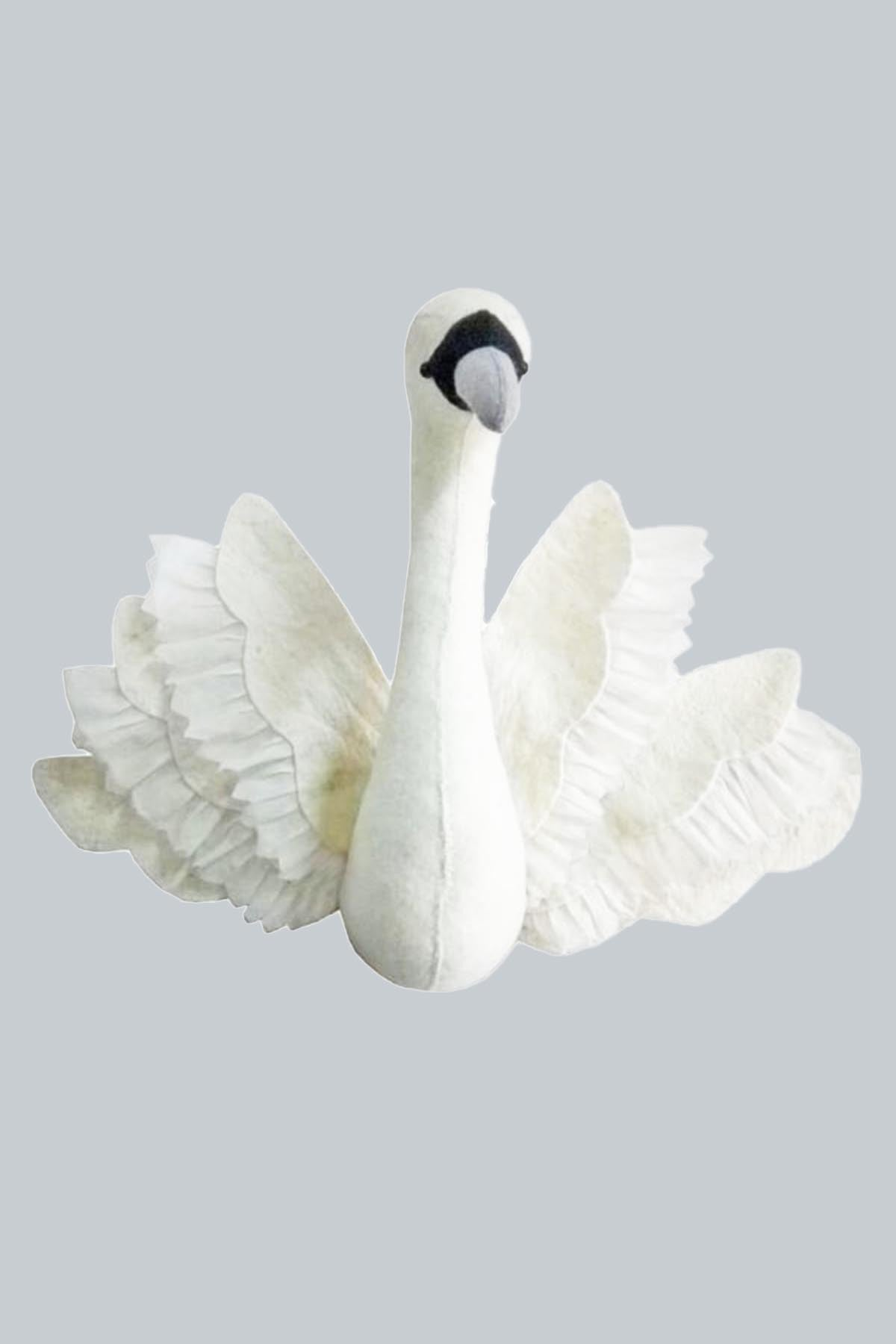 Swan with Wings Mount