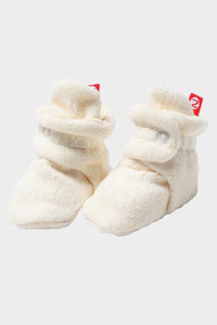 Cream Cozie Fleece Bootie