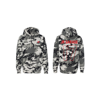 Snow Camo JR Garage Sweatshirt