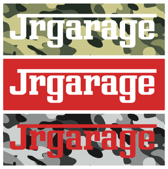 JR Garage Slap Stickers variety 3-pack
