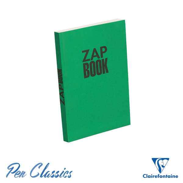 Clairefontaine Zap Recycled A5 Sketch Book – Green